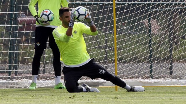 Adán, en un entrenamiento en Montecastillo (foto: Paco Martín)