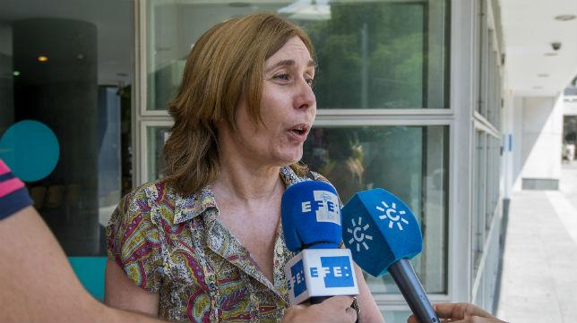 Amparo Díaz, abogada de la expareja de Rubén Castro (Foto: J. J. Úbeda)