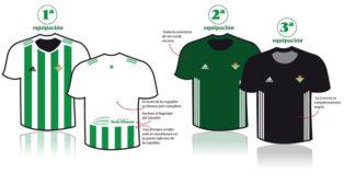 Las equipaciones del Betis para la temporada 2017-18