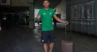 Rubén Castro, tras firmar su salida del Betis (Foto: María José López)