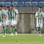 Sergio León celebra con sus compañeros el gol anotado ante el Benfica (Foto: EFE)