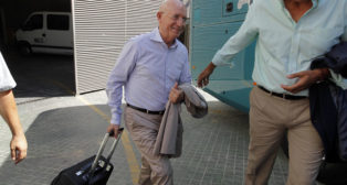 Serra Ferrer, antes de partir hacia Barcelona (foto: Raúl Doblado)