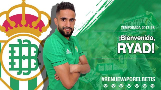 El Betis ha hecho oficial el fichaje de Boudebouz (Foto: RBB)