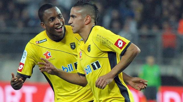 Boudebouz y Bakambu coincidieron en el Sochaux
