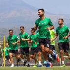 Entrenamiento del Betis en Catania (foto: RBB)