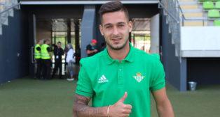 Sergio León en Alemania (foto: Real Betis)