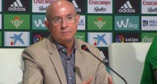 Serra Ferrer, en una rueda de prensa