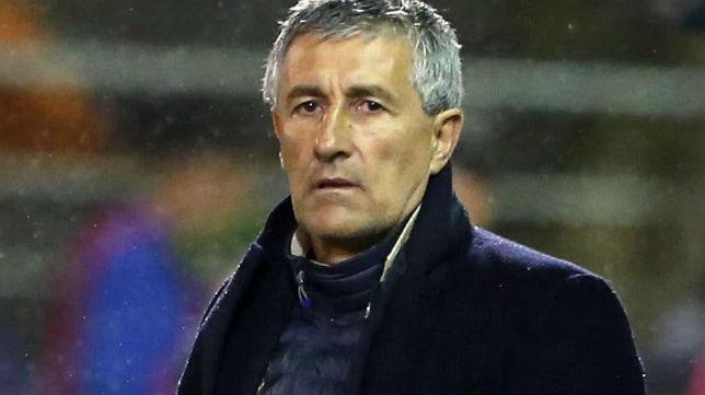 Setién, en su etapa de entrenador de Las Palmas (Foto: EFE)