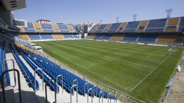 Imagen del estadio Ramón de Carranza de Cádiz (Foto: La Voz de Cádiz/Canal Amarillo)