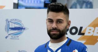 Rubén Duarte, jugador del Alavés