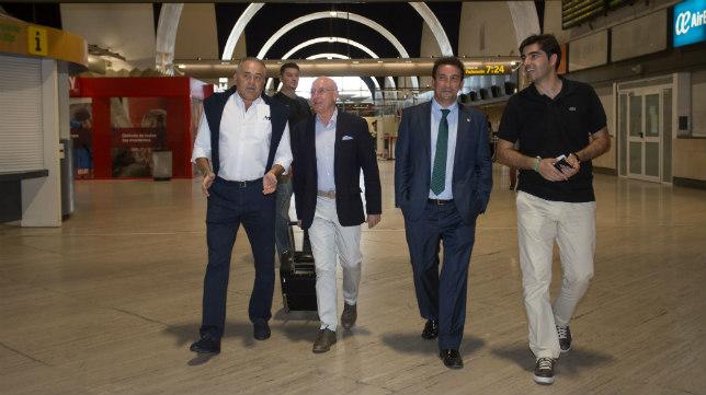 Gordillo, Serra Ferrer, López Catalán y Ángel Haro