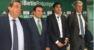 Pepe Tirado, López Catalán, Ángel Haro y Adolfo Cuéllar