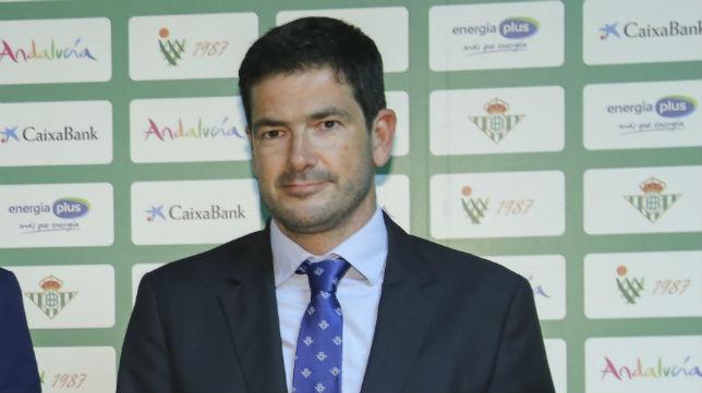 Ramón Alarcón, consejero y director del área de negocio del Real Betis (Foto: Rocío Ruz)