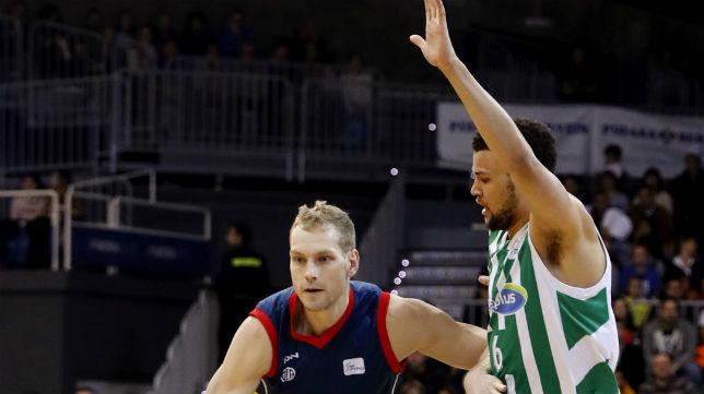 Lance del Andorra-Betis de baloncesto (Foto: EFE)