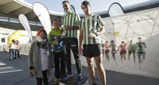 Entrega de Premios Carrera de las Aficiones, celebrada en el estadio de La Cartuja. (FOTO: JUAN FLORES)