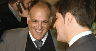 Tebas y Haro, este viernes en el Hotel Alfonso XIII (Foto: Jesús Spínola)