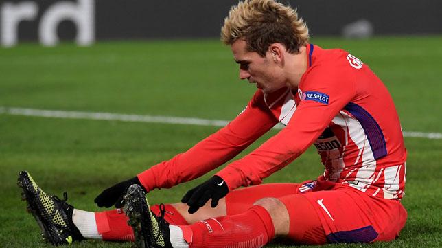 Antoine Griezmann, en Stamford Bridge (Foto: Reuters).