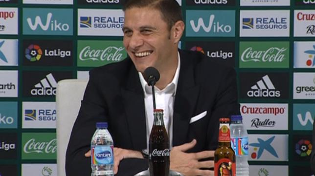 Joaquín, en sala de prensa