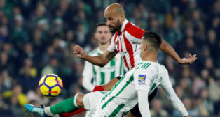 Sergio León, en el Betis-Athletic