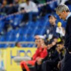Setién, durante el encuentro jugado por el Betis en Las Palmas (Foto: EFE)