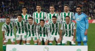 Once inicial del Betis ante el Barcelona