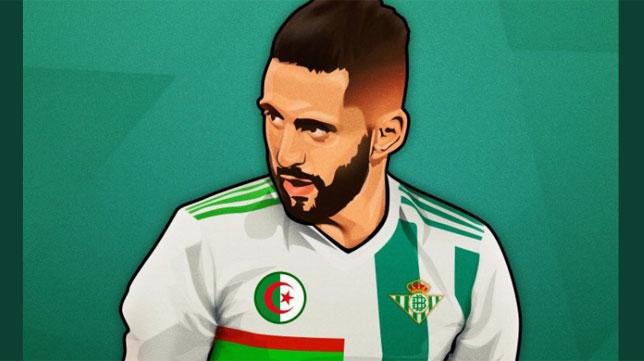 Camiseta Real Betis Boudebouz