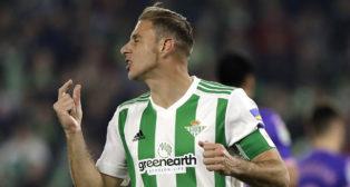 Joaquín, durante el partido ante el Leganés (Foto: J. M. Serrano).
