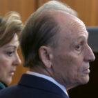 Lopera, antes del inicio de la sesión del juicio de este martes 8 de enero (Foto: EFE)