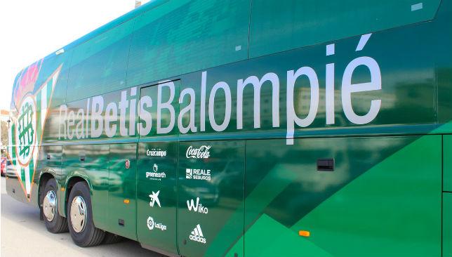 Imagen del nuevo autobús del Betis (RBB)