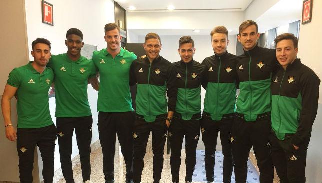 Los ocho canteranos del Betis presentes en la convocatoria ante el Dépor (RBB)