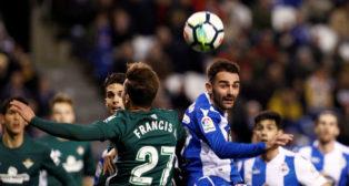 Francis, en el Deportivo-Betis
