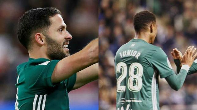 Durmisi y Júnior , opciones para el lateral izquierdo del Betis
