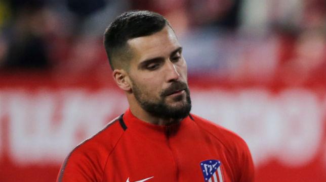 Miguel Ángel Moyá, en un partido con el Atlético de Madrid (Foto: Reuters)