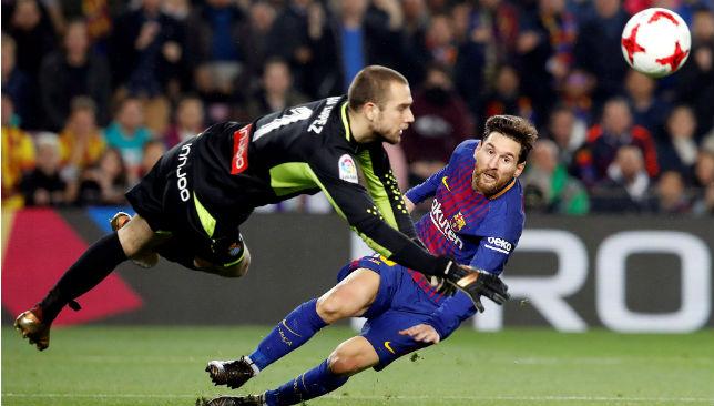Pau López, en el Espanyol - Barcelona (EFE)