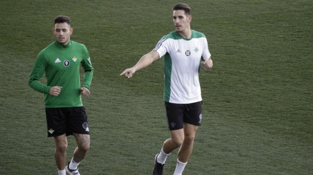 Sanabria y Álex Alegría corren en la ciudad deportiva (Foto: Juan Flores)