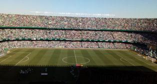 El Villamarín, antes del Betis-Villarreal