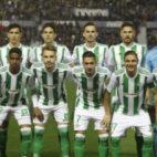 El once del Betis ante el Levante. Foto: LaLiga