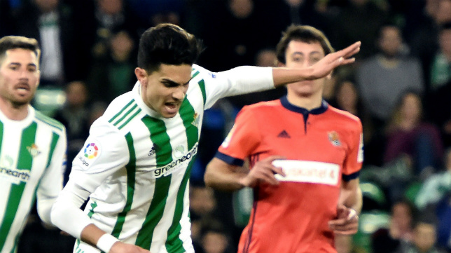 Bartra, en el partido ante la Real Sociedad