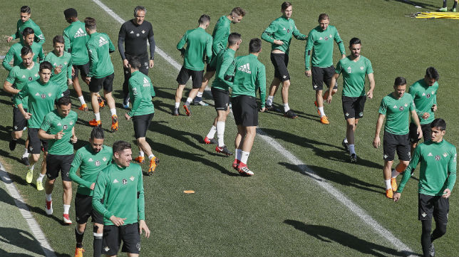 Entrenamiento del Betis (Foto: EFE)