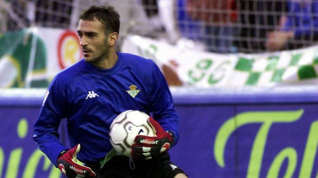 Toni Prats, exportero del Real Betis (RBB)