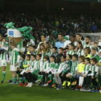 Once del Betis ante la Real Sociedad. Foto: LaLiga