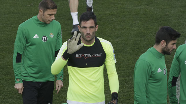 Antonio Adán (Foto: Juan Flores).