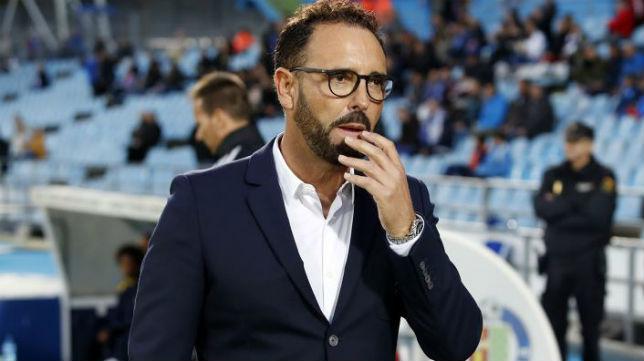 El entrenador del Getafe CF, Bordalás, durante un encuentro en el Alfonso Pérez Muñoz (Foto: ABC)