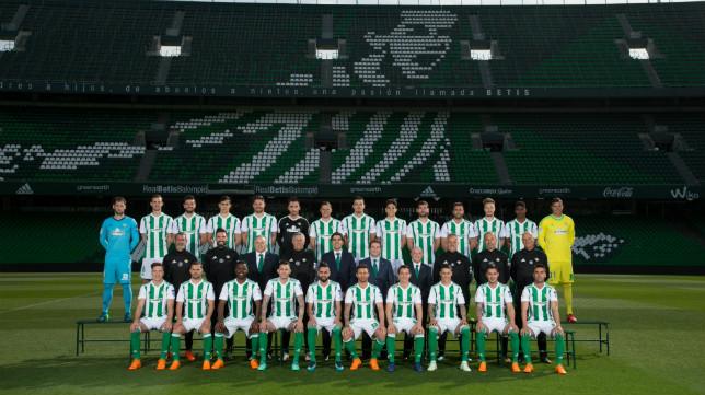 Foto oficial del Real Betis 2017-2018