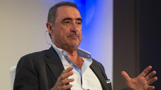 Carlos Herrera, en una charla organizada por ABC (Foto: Belén Díaz)