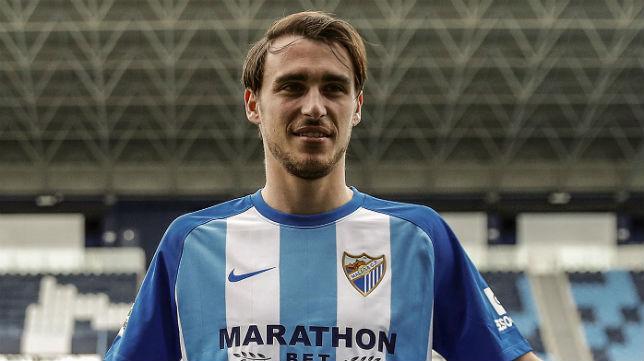 Ignasi Miquel, jugador del Málaga