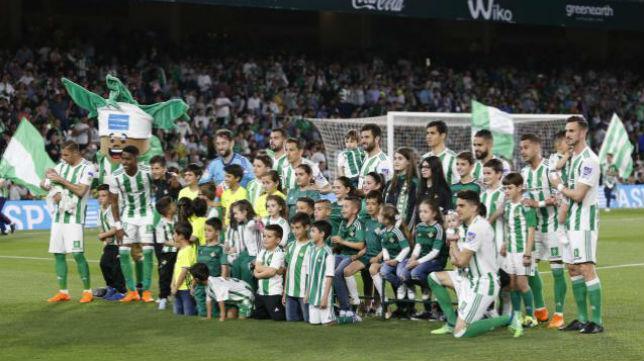 El once del Betis en la victoria ante Las Palmas. Foto: LaLiga