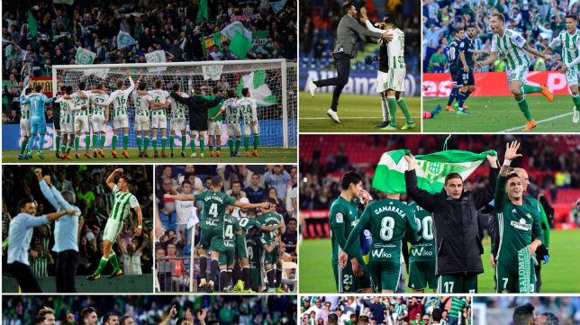 Imágenes de la temporada 17-18 en el Real Betis (Foto: @edersa10)