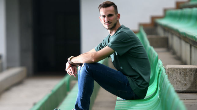 Fabian Ruiz posa para ABC de Sevilla (Juan José Úbeda)