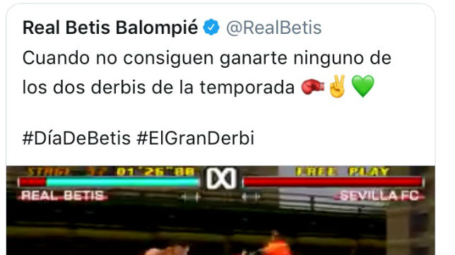 Tuit del Betis